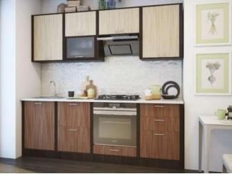 Кухня прямая 2.1 метра  - Мебельная фабрика «Кухни Заречного»