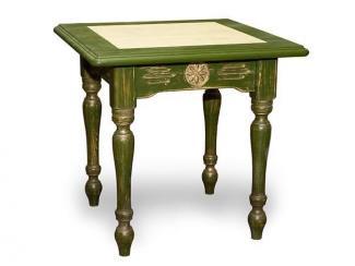 Стол из массива (Ст.B820.L820.summer) - Мебельная фабрика «Грин Лайн»