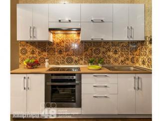 Кухонный гарнитур прямой Уна 2 - Мебельная фабрика «Камеа (Квартира 48)»