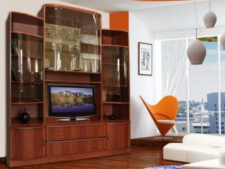 Гостиная стенка Татьяна 13 - Мебельная фабрика «Кошелев и К»