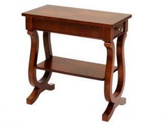 Стол журнальный деревянный с ящиком-1625 - Импортёр мебели «МебельТорг»