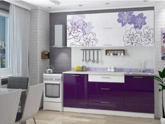 Кухня Бордо виолет - Мебельная фабрика «Можгинский лесокомбинат»