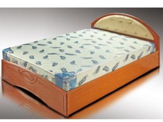 Кровать с мягким элементом