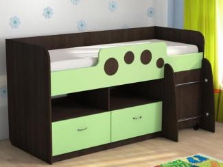 Детская кровать Антошка Венге - Мебельная фабрика «Евромебель»