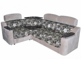 Комфортный угловой диван с полочкой Валенсия - Мебельная фабрика «Роден»