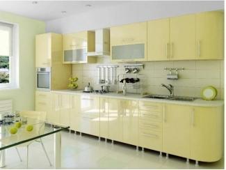 Светлый кухонный гарнитур  - Мебельная фабрика «Интерьер»