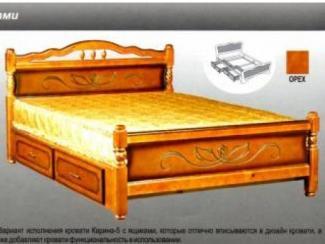 Кровать Карина 5 - Мебельная фабрика «Мебельная Сказка»