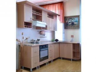 Кухонный гарнитур угловой Скиф Рогожка - Мебельная фабрика «12 стульев»