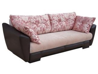 Прямой диван с розовыми подушками Аттика  - Мебельная фабрика «Асгард»