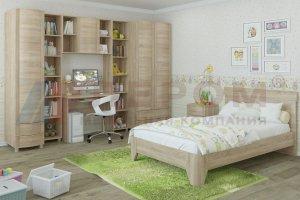 Детская Валерия композиция 4 - Мебельная фабрика «Лером»