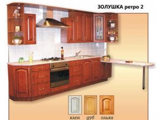 кухня прямая Золушка Ретро 2 мдф