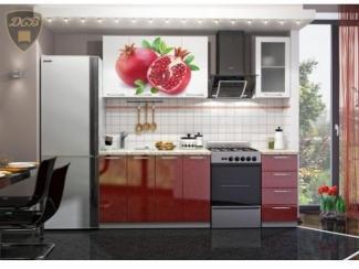 Кухня с фотопечатью Гранат - Мебельная фабрика «ДСВ-Мебель»