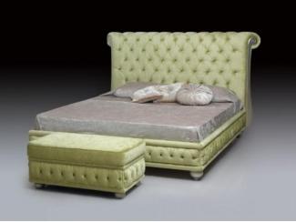 Мягкая кровать Дива - Мебельная фабрика «Lorusso divani»