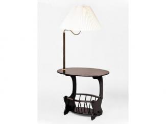 Журнальный стол «LW-649-MAH / MS-101» - Мебельная фабрика «Лагуна»
