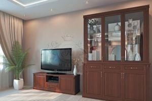 Гостиная с 3-створчатым сервантом - Мебельная фабрика «Каприз»