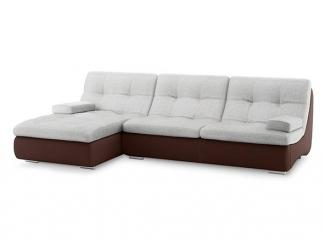 Угловой диван Армани Сильвер модель 1 - Мебельная фабрика «Лагуна»