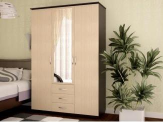 Шкаф 3-х створчатый ЛДСП - Мебельная фабрика «Лига Плюс»