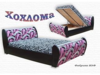 Кровать с подъемным механизмом Хохлома - Мебельная фабрика «ВЭФ», г. Владимир
