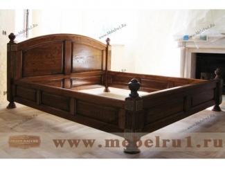 Кровать  Император - Мебельная фабрика «Лидер Массив»