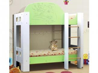 Кровать детская Русалочка 2хярусная 2
