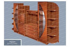 Гостиная 7 Аврора - Мебельная фабрика «МФА»