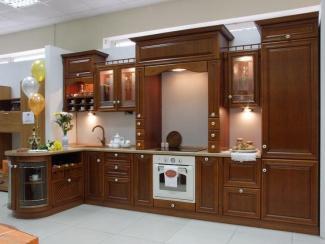 Кухня Аквитания массив - Мебельная фабрика «Эсси»