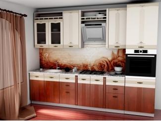 Кухня прямая СЕЛЕНА 2.2Ф - Мебельная фабрика «Глория»