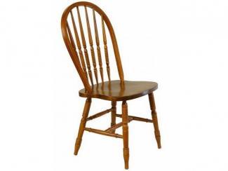 Стул деревянный жесткий резной Кантри - Импортёр мебели «МебельТорг»