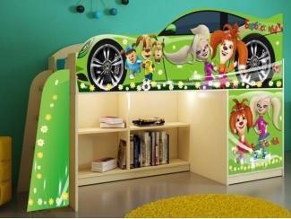 Детская кровать  Барбосики модель 1 - Мебельная фабрика «ПМК ВиП»