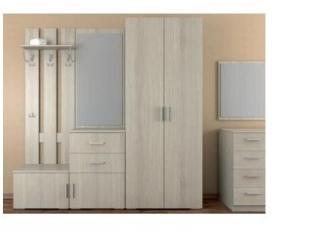 Белая прихожая 1 - Салон мебели «Ренессанс»