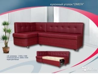 Мягкий кухонный уголок  Омега   - Мебельная фабрика «Софт-М», г. Ульяновск