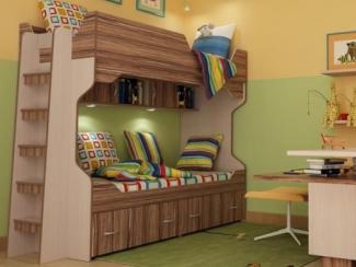 Двухъярусная кровать Стриж 2 - Мебельная фабрика «Порта»