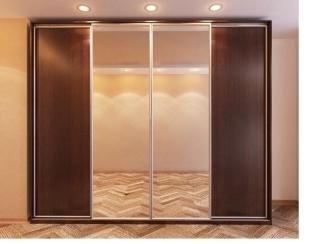 Шкаф-купе большой с зеркалом - Мебельная фабрика «Архангельская мебельная фабрика»