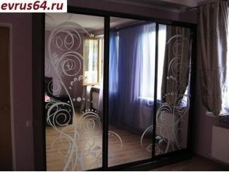 Шкаф-купе с зеркалом - Мебельная фабрика «Еврус»