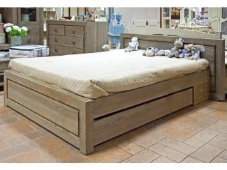 Большая кровать из массива Temp - Мебельная фабрика «Домашняя мебель»
