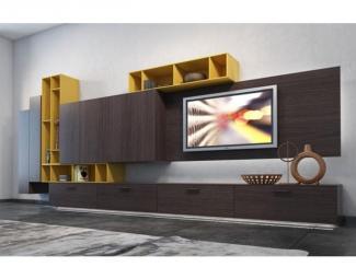 Гостиная стенка 044 - Мебельная фабрика «Mr.Doors»