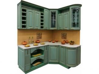 Кухня угловая Патина Кантри - Мебельная фабрика «Техсервис»