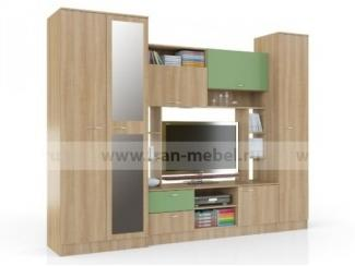 Стенка с двумя шкафами Светофор  - Мебельная фабрика «Фран»