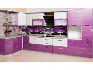 Кухня угловая Орхидея