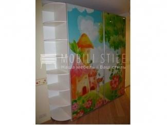 Шкаф купе с фотопечатью для детской - Мебельная фабрика «Стильная мебель»