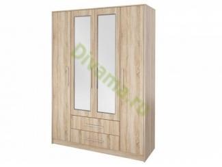 Шкаф распашной Лилис 4 - Мебельная фабрика «Фиеста-мебель»