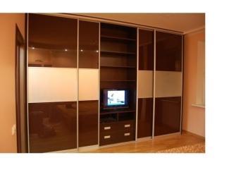 Шкаф-купе в гостиную  - Мебельная фабрика «Династия»