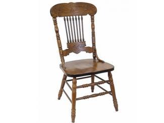 Стул деревянный резной жесткий Кантри - Импортёр мебели «МебельТорг»