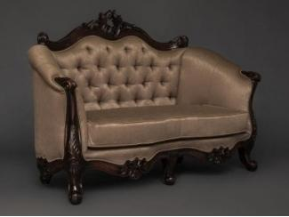 Изящный диван LUVR (S114) - Мебельная фабрика «Berger»