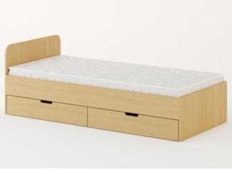 Удобная кровать с ящиками