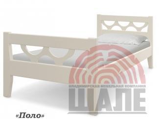 Кровать детская Поло из дерева - Мебельная фабрика «ВМК-Шале»