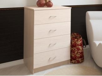 Небольшой комод 4 ящика Эльф-6 - Мебельная фабрика «Центр мебели Интерлиния»