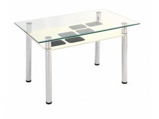 Стол обеденный Ваниль - Мебельная фабрика «Мебель из стекла»