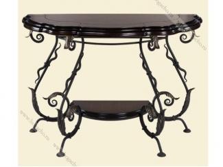 Кованный стол Аделаида 2 - Мебельная фабрика «BOGACHO»