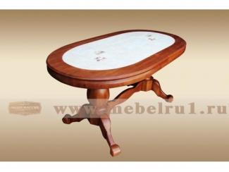 Cтол обеденный  Овальный Элитный - Мебельная фабрика «Лидер Массив»